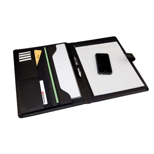 Monolith Leather Look Conference Folder/Pad 2900