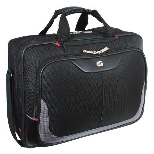 Gino Ferrari Enza Laptop Business Bag Bk