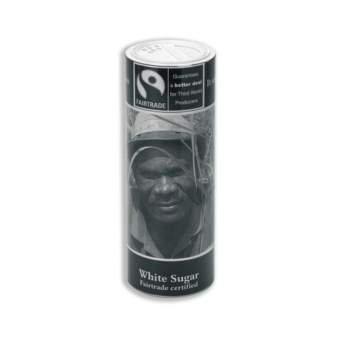 Fairtrade White Sugar Canister 0403105