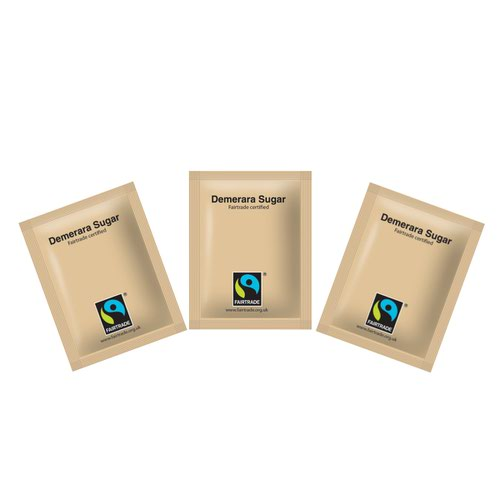 Fairtrade Sugar Sachet Brown (1000)