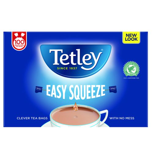 Tetley Drawstring Tea Bag (100)