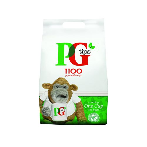 PG Tips Pyramid Tea Bags (1100)