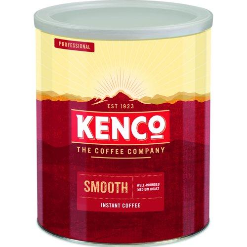 Kenco Smooth Roast Coffee Tin 750g