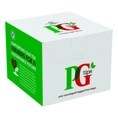 PG Tips Envelope Tea Bags (200)