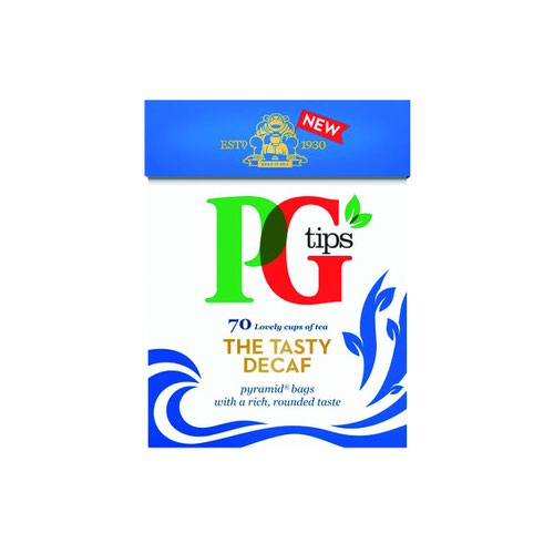 PG Tips Decaffeinated Tea Bags (80)