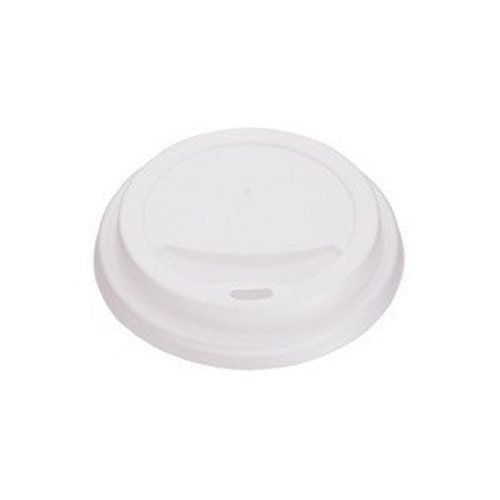 Hot Drink Cup Lids 25cl/8oz White (1000)