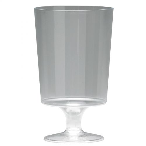 Plastic Stem Wine Glass (25)