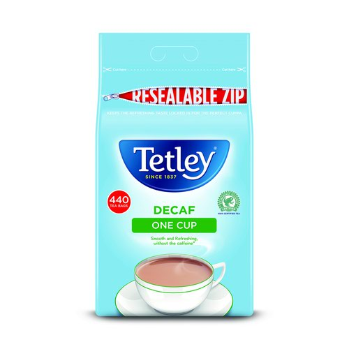 Tetley Decaf One Cup Tea Bags (440)