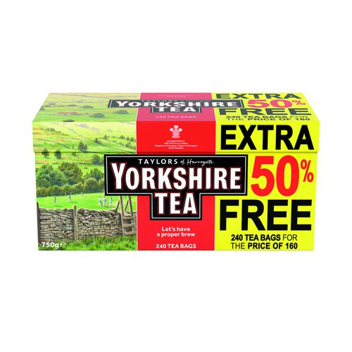 Yorkshire Tea Tea Bags (240)