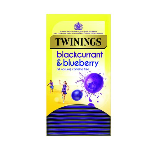 Twinings Blackcurrant & Blueberry Tea (20)