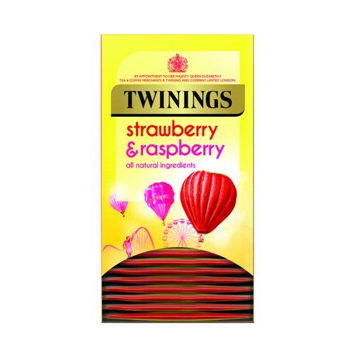 Twinings Strawberry & Raspberry Tea (20)