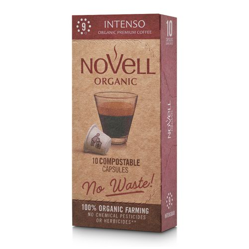 NOVELL INTENSO No Waste Capsules Nespresso Compatible (10)