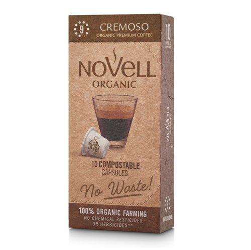 NOVELL CREMOSO No Waste Capsules Nespresso Compatible (10)
