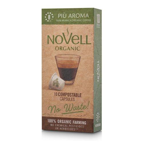 NOVELL PIU AROMA No Waste Capsules Nespresso Compatible (10)