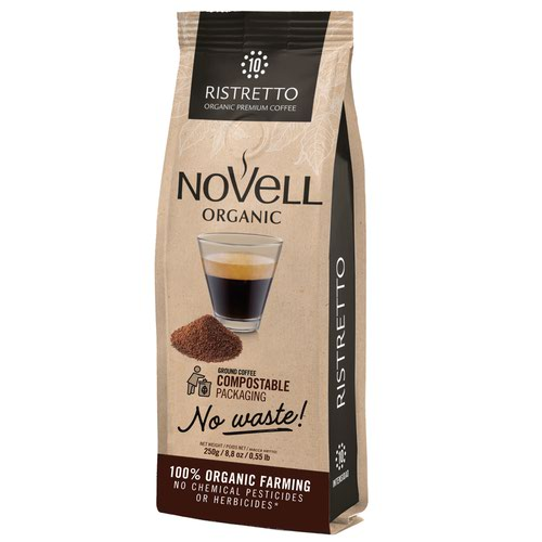 NOVELL RISTRETTO No Waste Ground Coffee 250g