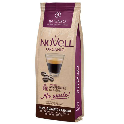 NOVELL INTENSO No Waste Whole Beans Coffee 250g