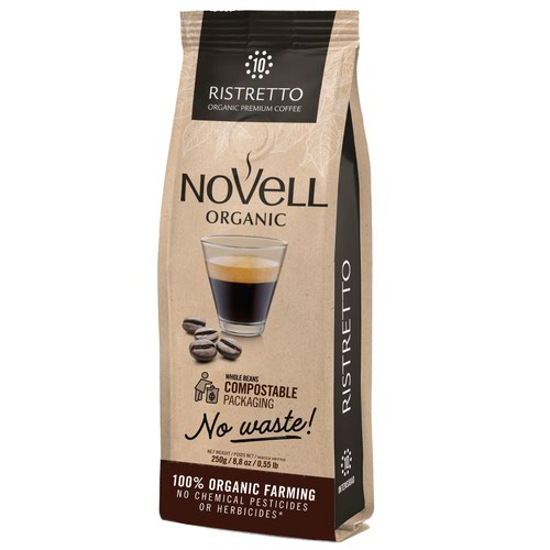 NOVELL RISTRETTO No Waste Whole Beans Coffee 250g