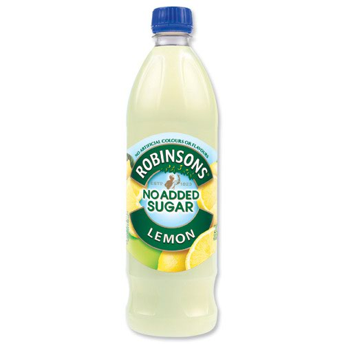 Robinsons No Added Sugar Special R Squash Lemon 1 Litre (12)