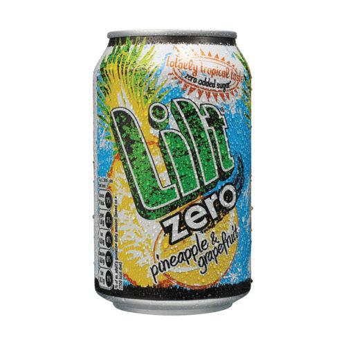 Lilt Zero Can 330ml (24)