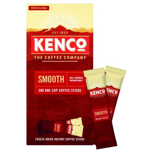 Kenco Smooth Freeze Dried Coffee Sticks 1.8g (200) 65687