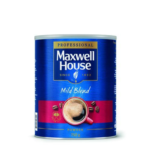 Maxwell House Mild Blend Coffee Powder 750g 64997