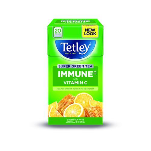 Tetley Super Fruit Infusion Immune Lemon & Honey (20)