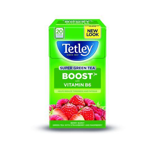 Tetley Super Fruit Infusion Boost Berry Burst (20)