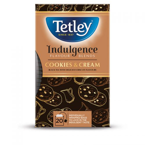 Tetley Indulgence Cookies & Cream Tea Bags (20)