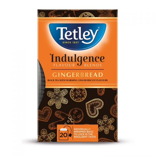 Tetley Indulgence Gingerbread Tea Bags (20)