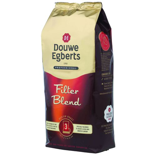 Douwe Egberts Roast & Ground Filter Coffee 1kg 536600