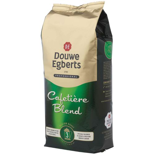 Douwe Egberts Roast & Ground Cafetiere Coffee 1kg 536700