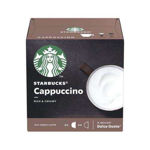 STARBUCKS Dolce Gusto Cappuccino Capsule (3x12) 12397695