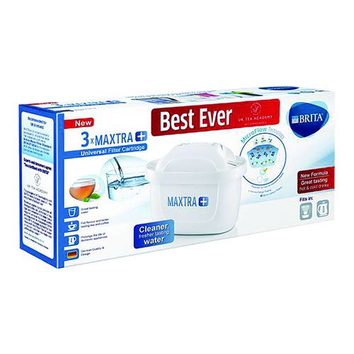 Brita Maxtra Water Filter Refill Cartridge (3) S1513