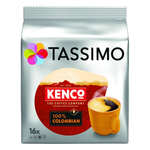 Tassimo Kenco Columbian Coffee Pods Pk5