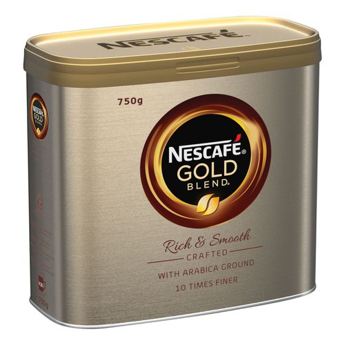 NESCAFE GOLD BLEND Coffee Granules 750g (2) + Quality Street