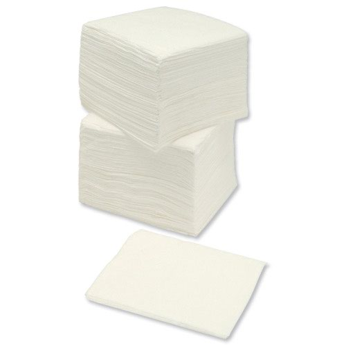 Paper Napkins 2-Ply 320x320mm White (500)