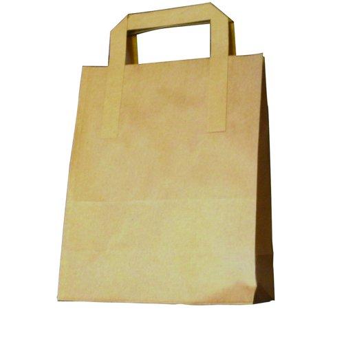 Paper Takeaway Bag Brown (250) 69968
