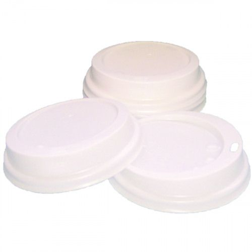 Caterpack Paper Cup Sip Lids 25cl White (100) MXPWL80