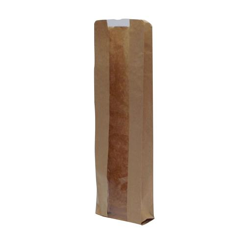 Window Baguette Bags 100x150x355mm Brown (1000)