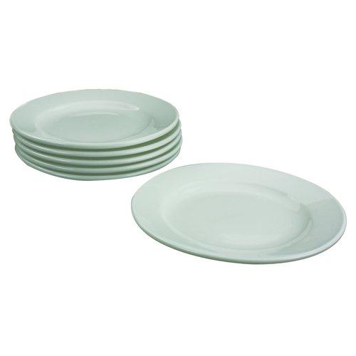 Porcelain Plate White 170mm (6) 305093