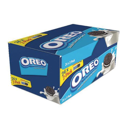 Oreo Mini Pack Biscuits (24x2)