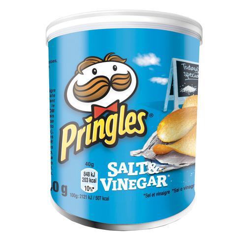 Pringles Salt & Vinegar 40g (12) 7000273001