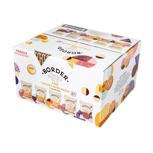 Border Biscuits 5 Variety Twin Mini Packs (100)