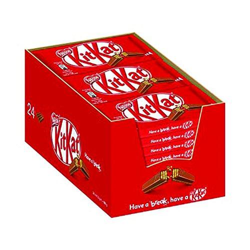 Nestle KitKat Four Finger Milk Chocolate (24)