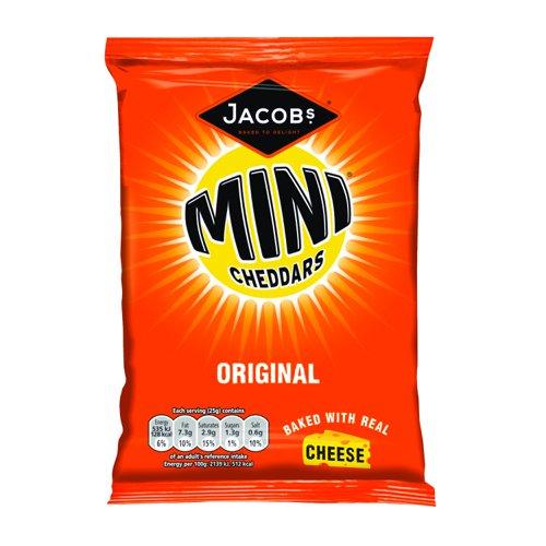 Jacobs Mini Cheddars Original Grab Bag 50g (30)