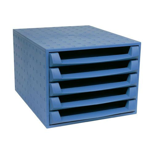 Exacompta Forever 5 Drawer Set Blue 221101D