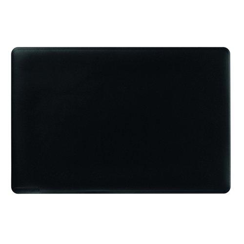 Durable Duraglas Desk Mat 530x400mm Black 7102/01