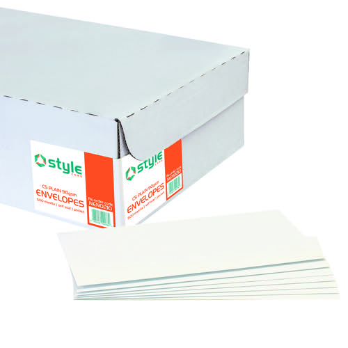 Style CORE Pocket Envelopes Self-Seal C5 Manilla 90gsm (500)