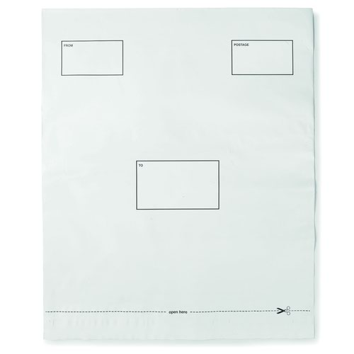 Value Extra Strong Polythene DX Bags 395x430mm (100)