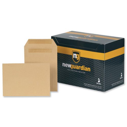 New Guardian Pocket Envelopes Gummed Seal 98x67mm Manilla 80gsm (2000) M24011